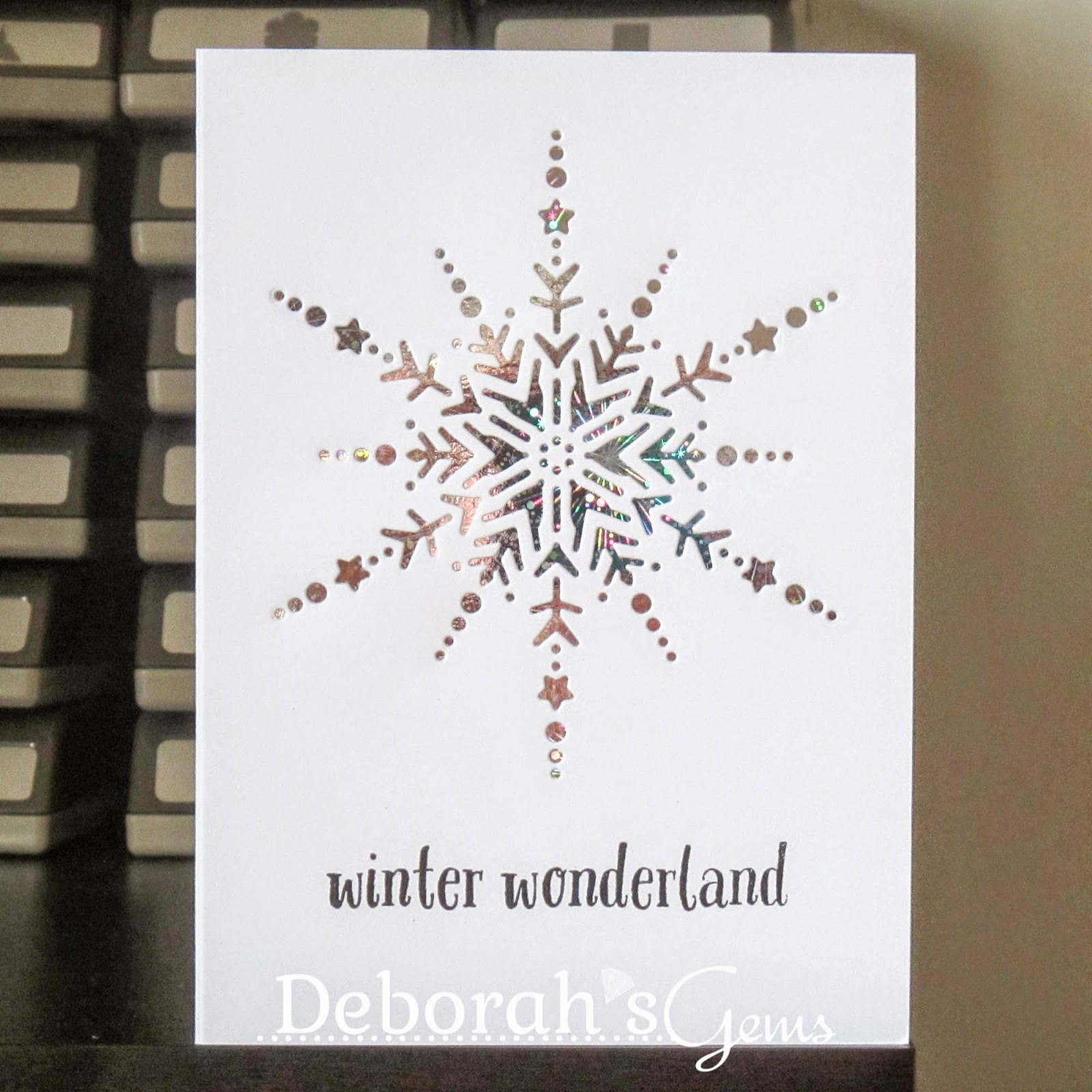 Winter Wonderland sq - photo by Deborah Frings - Deborah's Gems