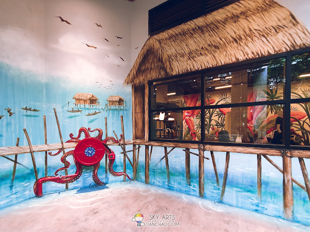 Most Instagrammable spot in Kuala Lumpur The LINC KL Mall with colorful owl mural arts