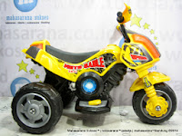 Junior ME5641 Moto Sable XL Battery Toy Motorcycle