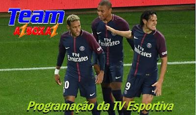 Programação da TV Esportiva ''Sexta'' 24/05/19