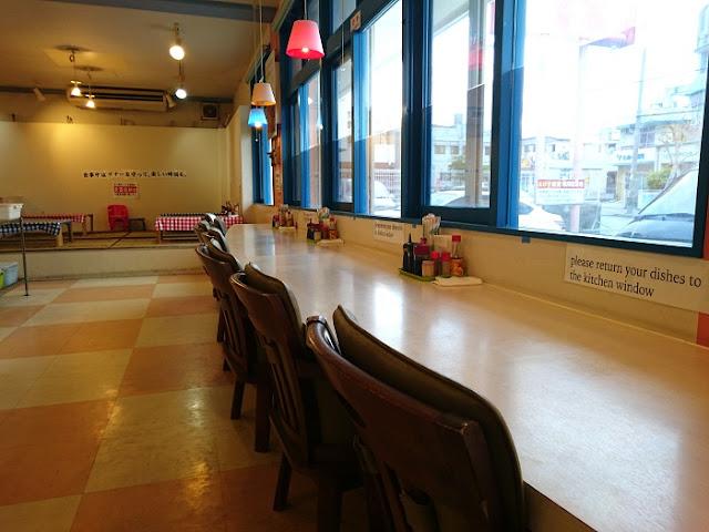 えびす食堂の店内の写真