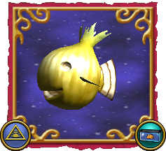 Wizard101 Fishing Dragonspyre Fish Sweet Yellow Grunion