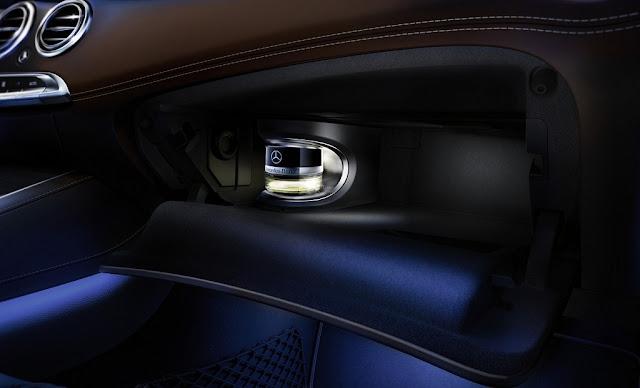 Mercedes Maybach S500 2017 trang bị Hệ thống tạo hương thơm thông minh
