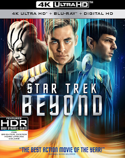 Star Trek Beyond movie out on November 1 with tons of extras. Details at JasonSantoro.com