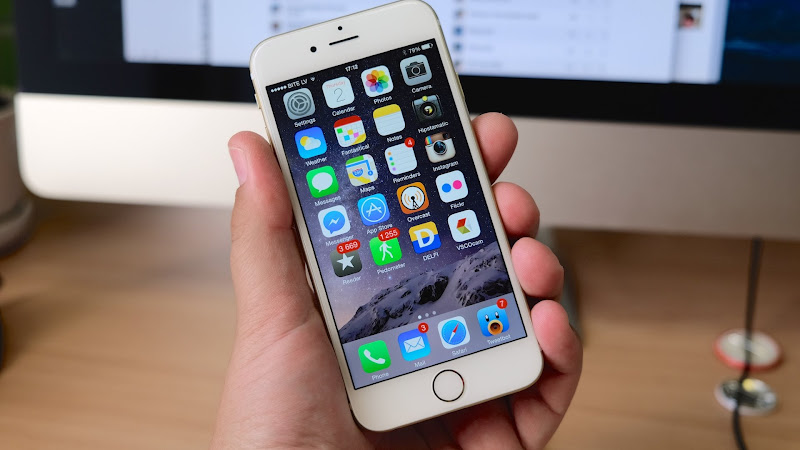 Hands on iPhone 6 2