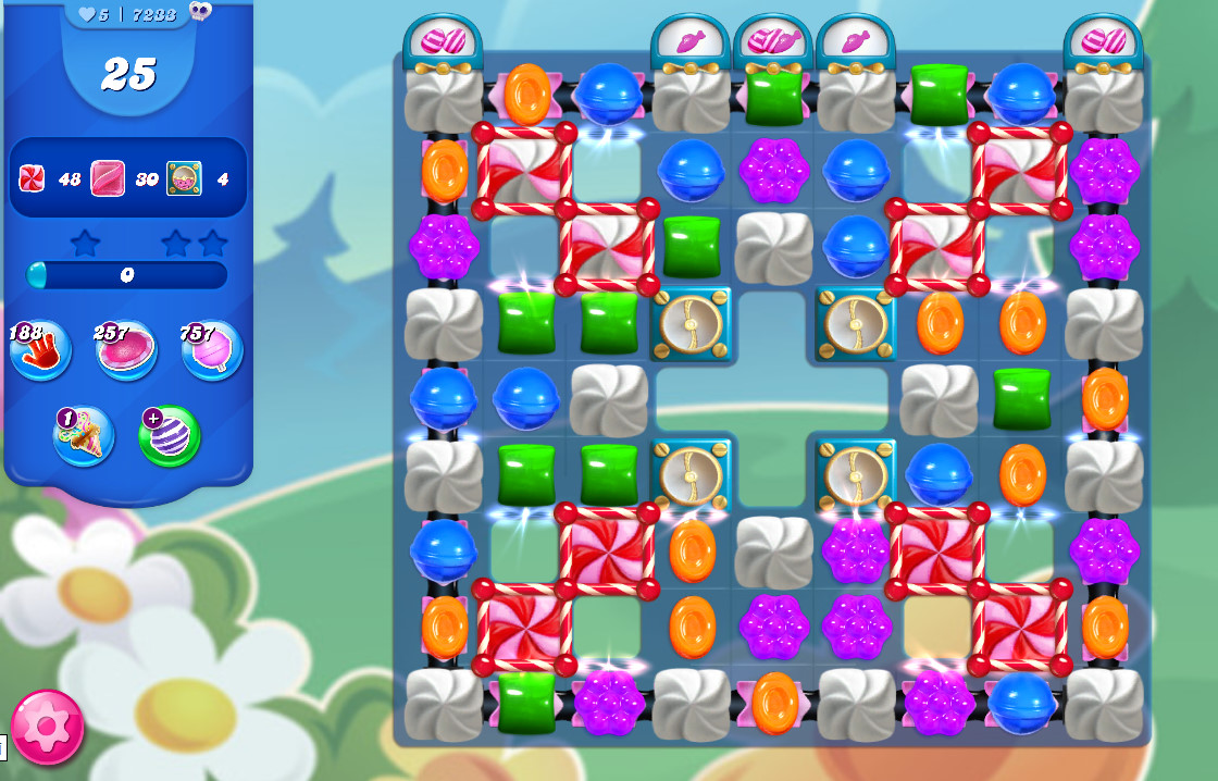 Candy Crush Saga level 7233