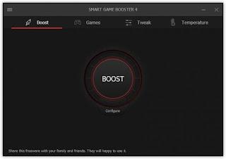 برنامج smart Game Booster لتسريع الالعاب للكمبيوتر اخر اصدار 2018
