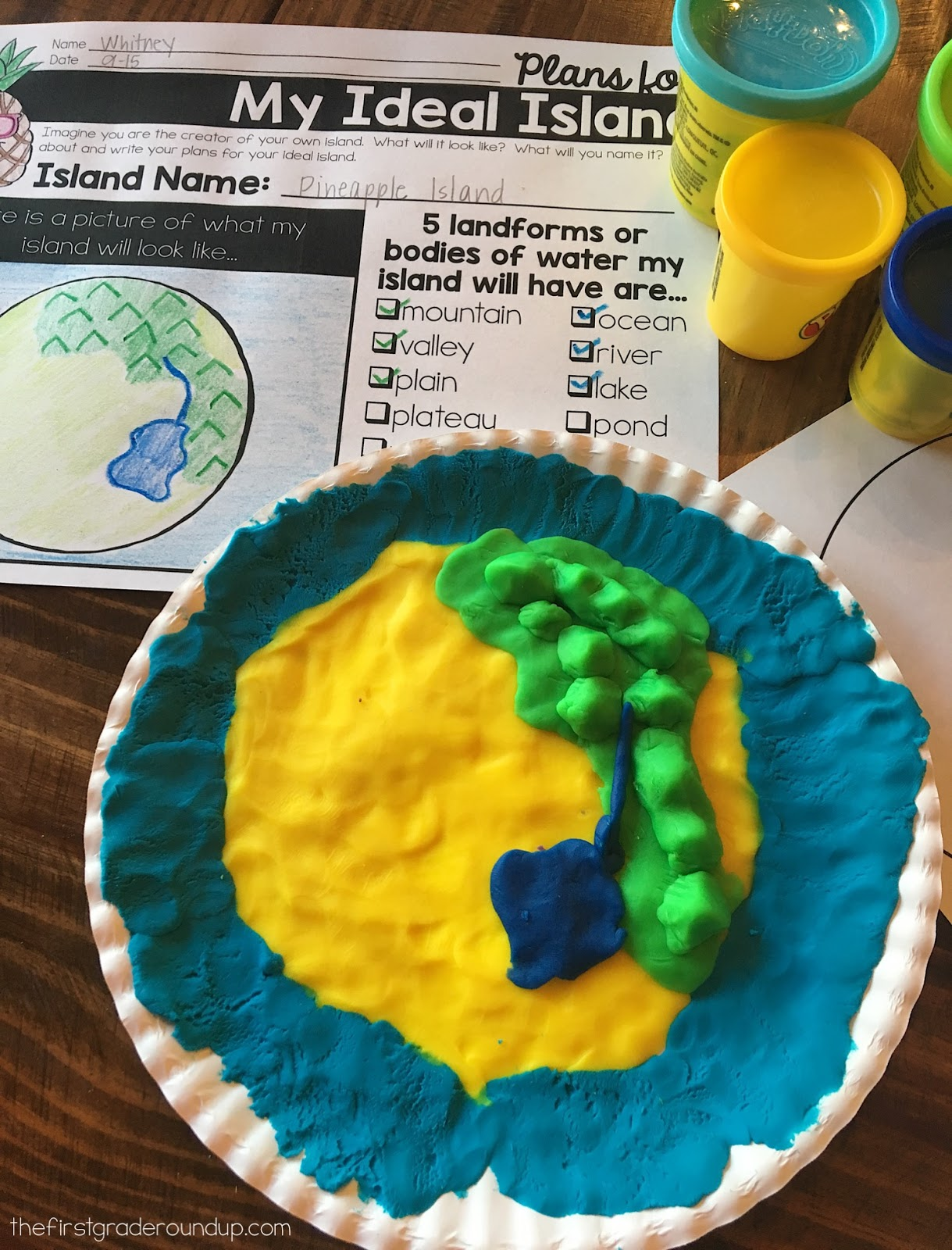 32 Label Landforms