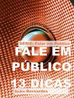 eBook - 13 Dicas Para Falar em Público - André Luiz Bernardes - Série - Falar em Público
