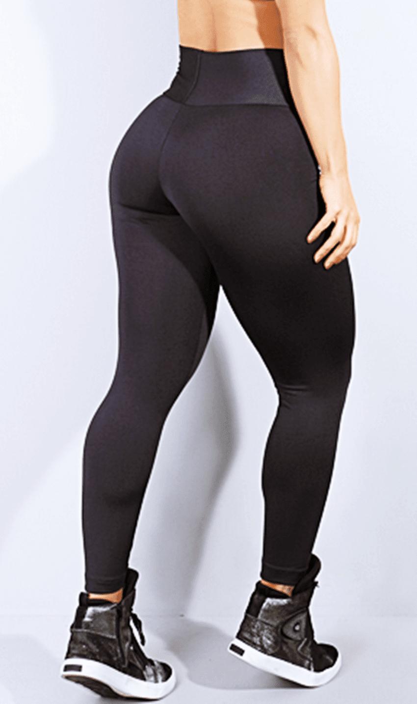 Calça Legging Fitness Preta