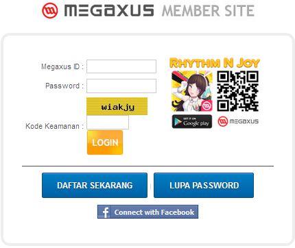 Cara Daftar Game Online Xshot Megaxus