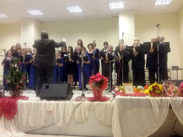Ο Πολιτιστικός Σύλλογος Άργους «Τελέσιλλα» έλαβε μέρος στο Φεστιβάλ της Χορωδίας Νίκαιας
