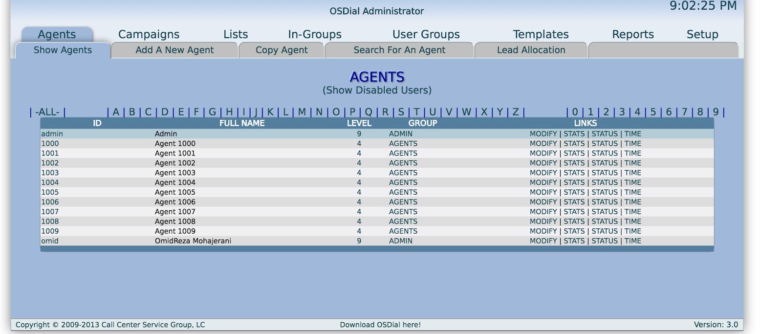 Add leads to OSDial via API | OpenSource Telephony