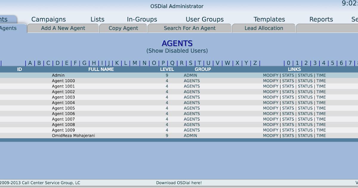 OpenSource Telephony: Add leads to OSDial via API