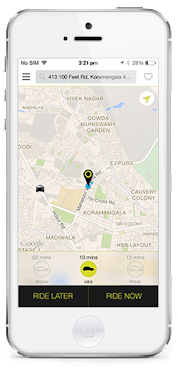 Olacabs Android App Free Download