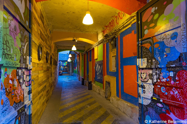 Kuplung Alley Entry Ruin Bar Budapest Hungary