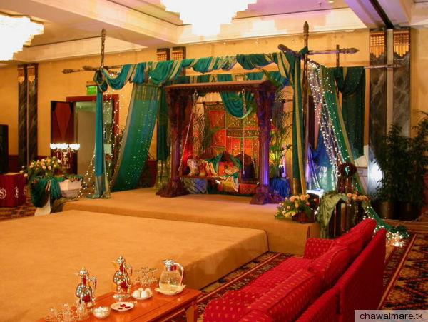 Afghan Wedding Stage Decoration