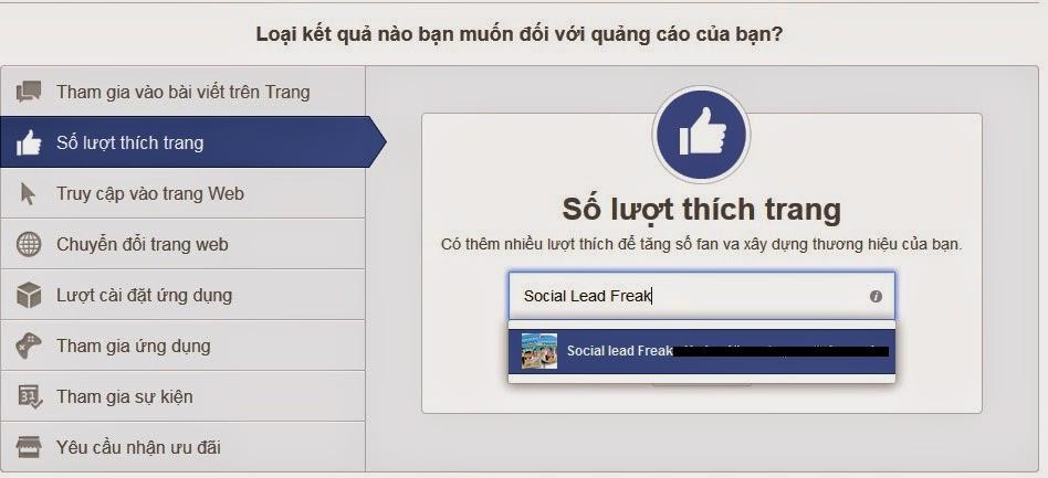 quảng cáo trên facebook 5