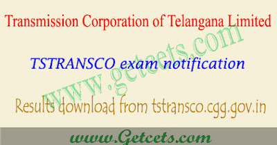Manabadi TSTransco ae results 2018,TS Transco Assistant Engineer results 2018