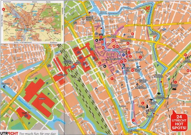 Utrecht- Map