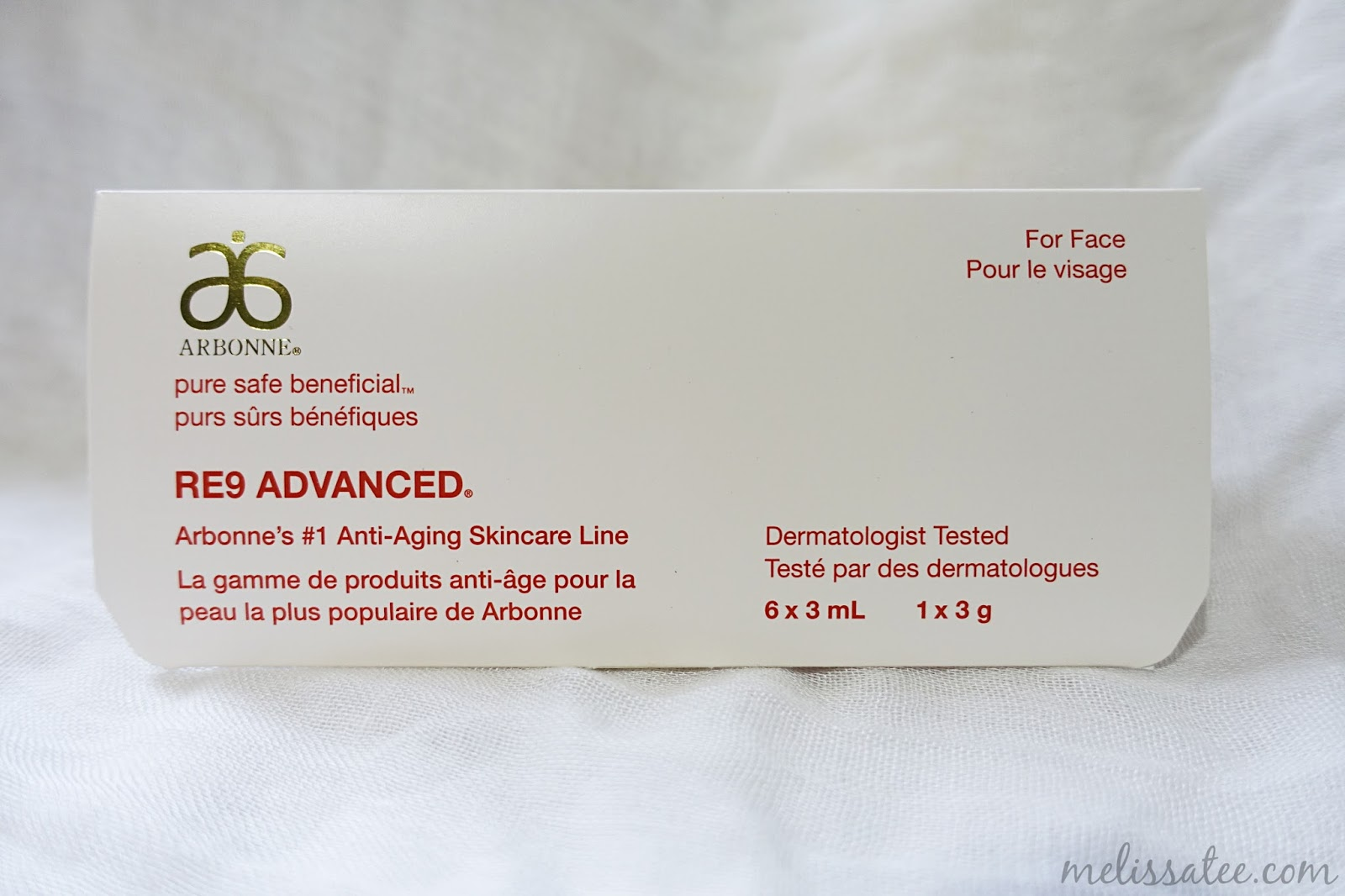 The Blushing Introvert: Arbonne RE9 Advanced Anti-Aging
