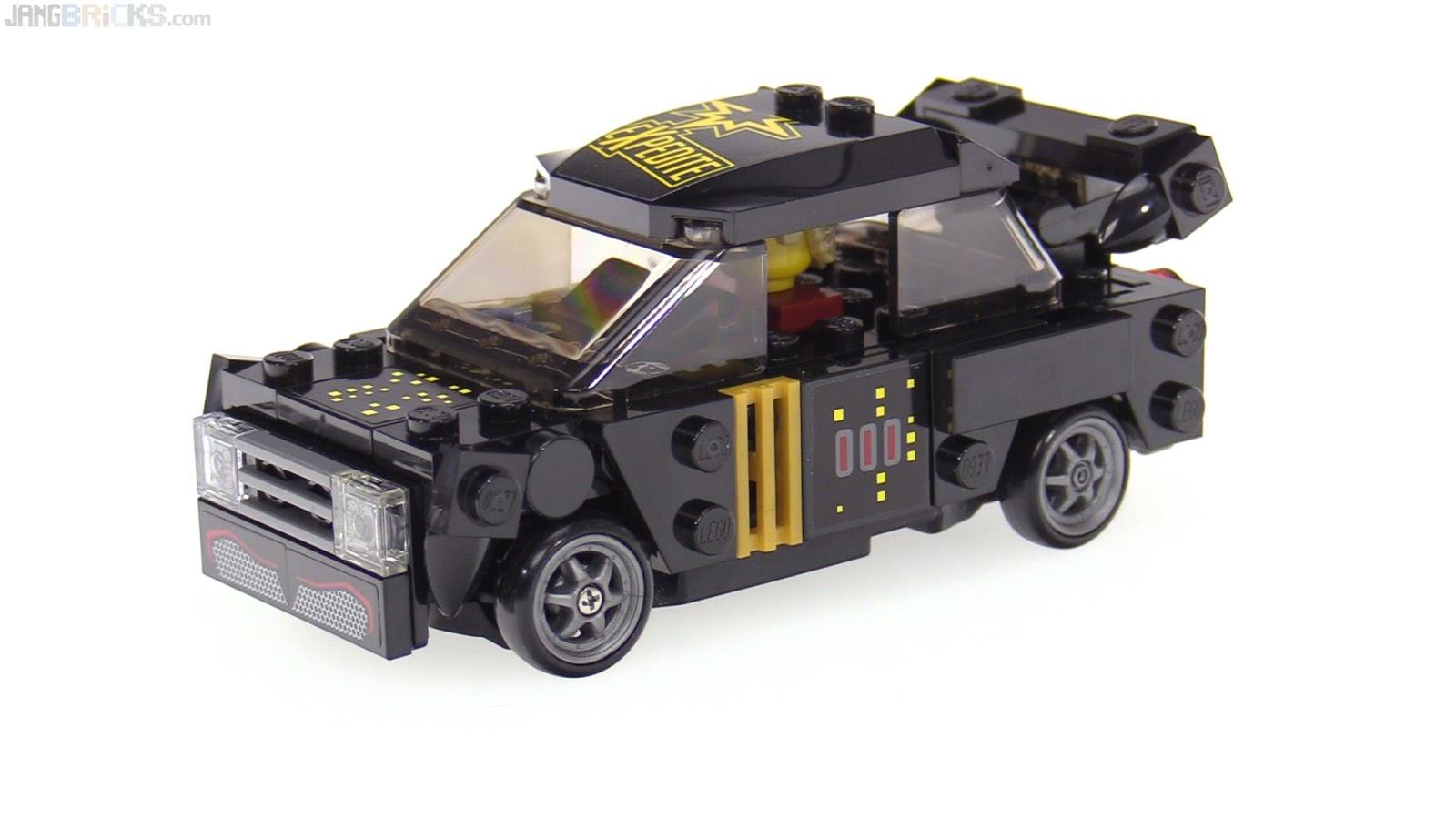 Custom Wide Lego Bodied Rc Drift Car