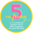 Five on Friday: November 25, 2016
