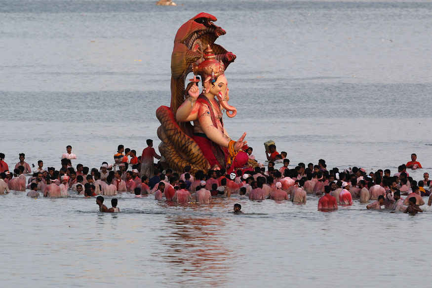 Ganesha Chaturthi Festival Celebration In India