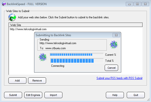 Software Auto Backlink Full Version