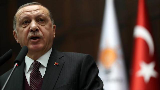 Erdogan arremete contra EEUU por adiestrar fuerza fronteriza kurda