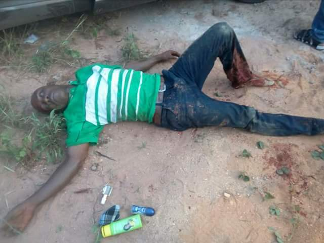 Photos: Suspected kidnappers shot dead in Imo State