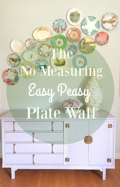 How to Hang a Plate Wall without Measuring