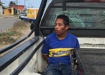 Vecinos capturan a ladron en la colonia Reserva tres en Veracruz