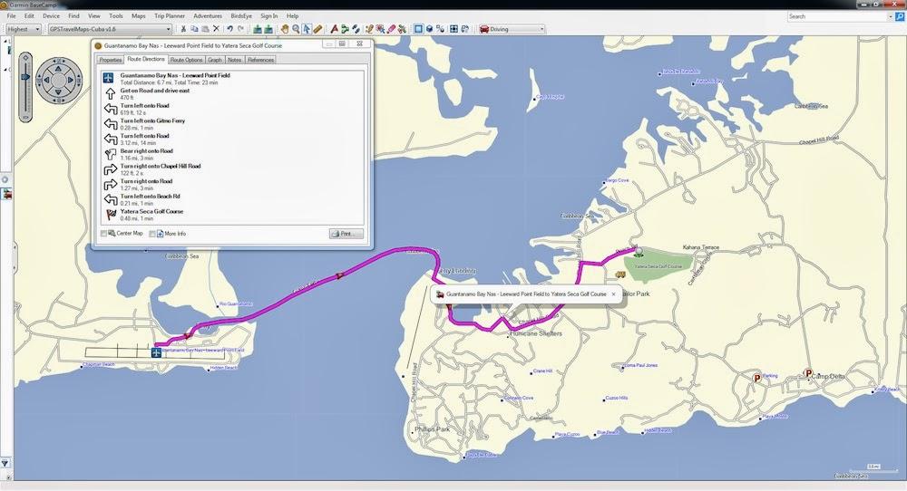Cuba GPS Map - Garmin, TomTom, Magellan - GPSTravelMaps com