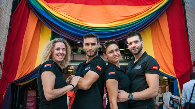 POLICIAS GAYS ESPAÑA activismo lgbt mundo spain police pride madrid