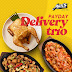 Mark your calendars and reward yourself with Max's 'Payday Delivery Trio' & 'Build-Your-Own Fried Chicken Sandwich'