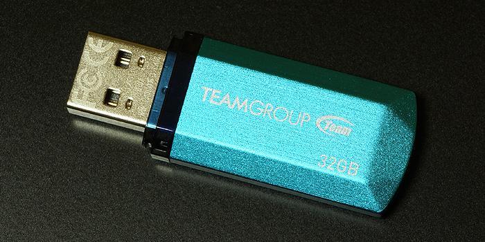 TEAM USBメモリ(C153)64GB・32GBの転送速度レビュー