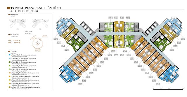 mặt bằng dự án condotel marina ocean park nha trang 0896356386