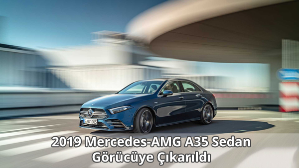 2019 Mercedes-AMG A35 Sedan Özellikleri