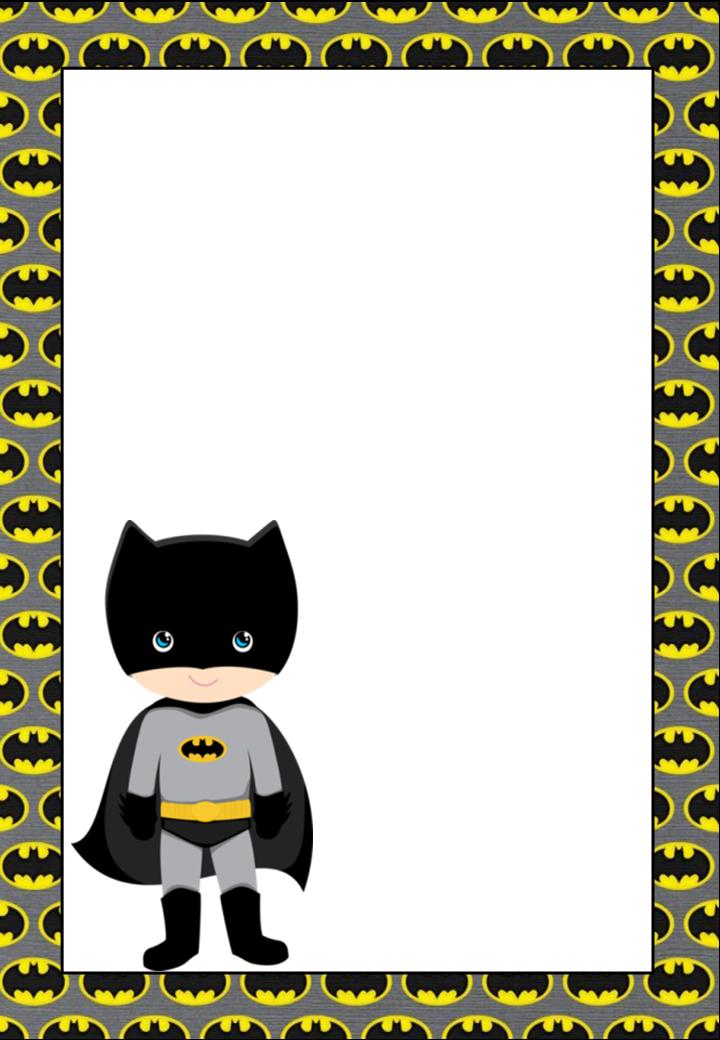 free printable batman invitations  cards or labels