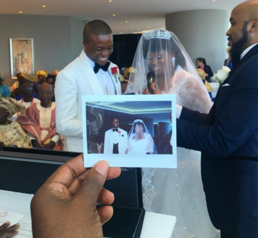 View of Tolu AKA Toolz & Tunde Demuren marriage pictures, 1