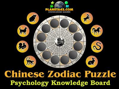 Chinese Zodiac Puzzle
