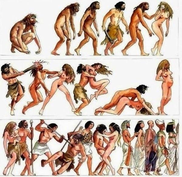 дрожа, эротика в доисторическое время парень искренне