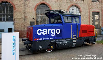 Lokomotywa hybrydowa typu Eem 923 dla SBB Cargo