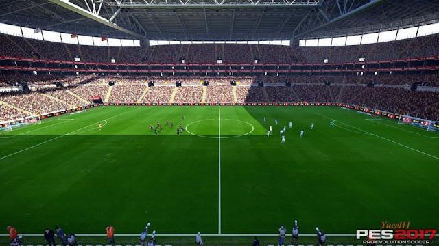PES 2017 Galatasaray Turk Telekom Arena