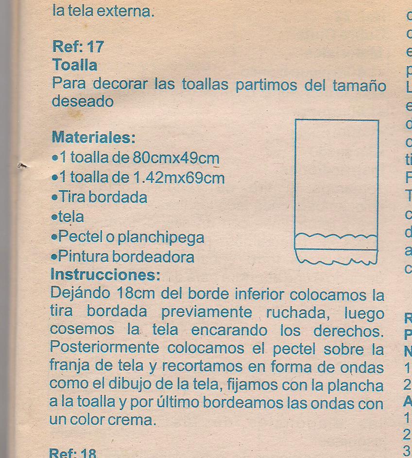 Revista Tus Manos Lenceria De Baño:El Blog de Flor Mar y Ojito: LENCERIA PARA BAÑOS