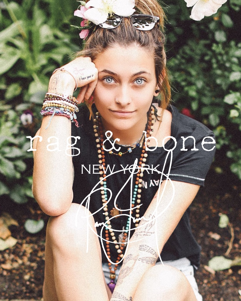 PARIS JACKSON FOR RAG & BONE DIY PROJECT