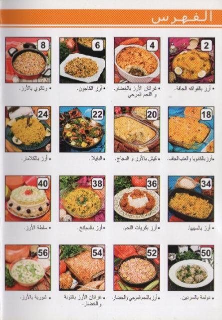La cuisine alg rienne samira special riz ar - La cuisine algerienne samira ...