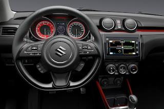 Suzuki Swift Sport (2018) Dashboard