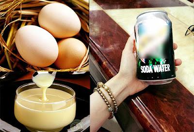 Cách tăng cân bằng trứng gà, soda và sữa